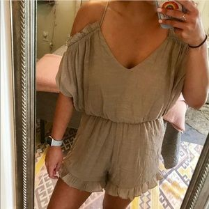 Boutique romper (worn once)